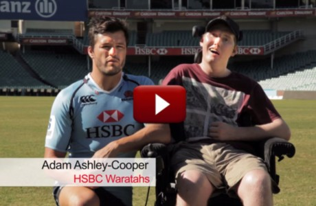 TVC with Adam Ashley-Cooper